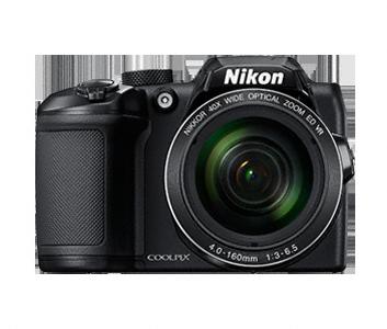 Цифровой фотоаппарат Nikon Coolpix B500 BlackЦифровые фотоаппараты<br>Nikon Coolpix B500 — легкость получения изображений самого высокого качества.<br>Объектив NIKKOR с мощным 40-кратным оптическим зумом, расширяемым до 80-кратного с помощью функции Dynamic Fine Zoom, перенесет вас в эпицентр событий, а боковой рычажок зуммирования обеспечит дополнительную устойчивость. Вы сможете выбрать уникальный ракурс с помощью наклонного ЖК-монитора высокой четкости, с легкостью повторно поймать объект в кадр, воспользовавшись кнопкой возврата зуммирования, и поддерживать соединение фотокамеры с интеллектуальным устройством благодаря приложению...<br><br>Тип: Цифровой Фотоаппарат<br>Оптическое увеличение: 12<br>Стабилизатор изображения: Оптический<br>Носители информации: micro SD, micro SDHC, micro SDXC<br>Видеорежим: Есть<br>Звук в видеоклипе: Есть<br>Вспышка: Есть<br>Цвет: Чёрный<br>Кроп фактор: 5.62<br>Тип матрицы: CCD