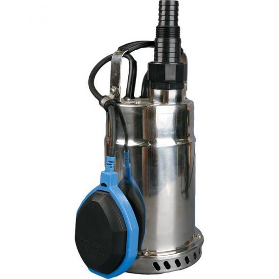 Насос Калибр НПЦ-500/5ННасосы<br>Насос погружной центробежный - нержавеющий корпус<br><br>поплавковый выключатель - автоматически отключает насос при падении уровня воды ниже установленного, и включает его при достижении заданного; <br><br>компактность, простота в эксплуатации, возможность переноса; <br><br>могут использоваться:<br>- для водозабора из резервуаров или рек, откачивания воды из плавательных бассейнов, колодцев, погребов;<br>- в системах полива и орошения, а также для понижения грунтовых вод.<br><br>Глубина погружения: 6 м<br>Максимальный напор: 7 м<br>Пропускная способность: 10 куб. м/час<br>Потребляемая мощность: 500 Вт<br>Качество воды: чистая<br>Размер фильтруемых частиц: 5 мм<br>Установка насоса: вертикальная