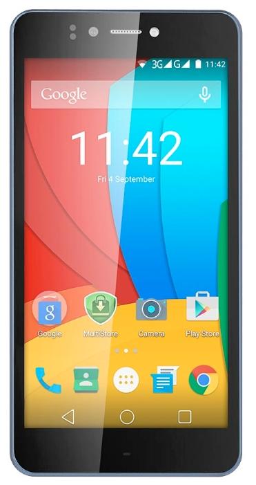 Мобильный телефон Prestigio 3530 Muze D3 BlackМобильные телефоны<br><br><br>Тип: Смартфон<br>Стандарт: GSM 900/1800/1900, 3G<br>Тип трубки: классический<br>Поддержка двух SIM-карт: есть<br>Операционная система: Android 5.0<br>Встроенная память: 8 Гб<br>Фотокамера: 13 млн пикс., светодиодная вспышка<br>Форматы проигрывателя: MP3<br>Разъем для наушников: 3.5 мм<br>Процессор: MediaTek MT6582M, 1300 МГц