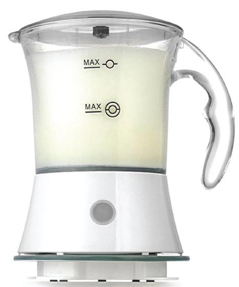Взбиватель молока VES V FS 23Домашние помощники<br><br><br>Тип: взбиватель молока<br>Мощность, Вт.: 550<br>Объем: 300<br>Цвет: белый<br>Комплектация: 2 насадки: для смешивания и вспенивания