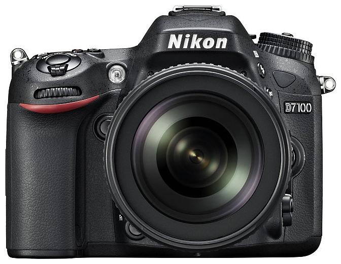 Зеркальный фотоаппарат Nikon D7100 18-140 VRЦифровые зеркальные фотоаппараты<br>Создавайте незабываемые динамичные фотографии с помощью чрезвычайно мощной фотокамеры D7100.<br>Эта многофункциональная, чрезвычайно легкая и компактная модель, которая заключена в прочный корпус, имеет матрицу формата DX высочайшего качества и позволяет достичь новых высот мастерства в области фотосъемки.<br><br>Не задействуя оптический низкочастотный фильтр &amp;#40;OLPF&amp;#41;, фотокамера D7100 по максимуму использует 24.1-мегапиксельную КМОП-матрицу формата DX для обеспечения впечатляюще высокого разрешения и исключительной четкости даже текстур с мельчайшими...<br><br>Тип: Цифровая зеркальная фотокамера<br>Стабилизатор изображения: нет<br>Носители информации: SD, SDHC, SDXC<br>Видеорежим: есть<br>Звук в видеоклипе: есть<br>Вспышка: есть<br>Кроп фактор: 1.5<br>Тип матрицы: CMOS<br>Размер матрицы: 23.5 x 15.6 мм<br>Число эффективных пикселов, Mp: 24.1 млн