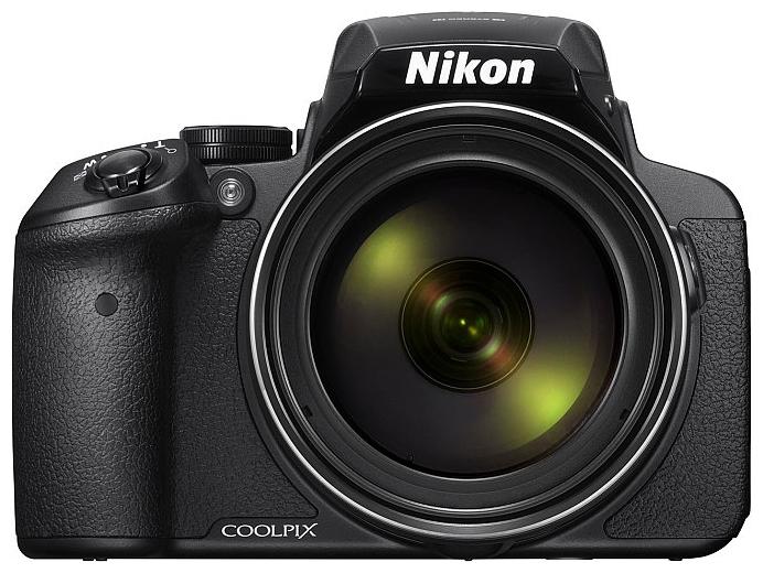 Цифровой фотоаппарат Nikon Coolpix P900 BlackЦифровые фотоаппараты<br>Фотографы, увлекающиеся съемкой дикой природы и ночного неба, высоко оценят новую 16-мегапиксельную фотокамеру Coolpix P900 со сверхмощным 83-кратным оптическим зумом, которая позволяет запечатлеть детали, невидимые человеческому глазу. Мгновенно начинайте съемку, используя ускоренную автофокусировку и сокращенную задержку перед спуском затвора. А также снимайте с выдержкой на 5.0 ступени длиннее, чем обычно, благодаря системе оптического подавления вибраций Dual Detect Optical VR, которая эффективно устраняет смазывание.<br><br>Экран с переменным углом наклона...<br><br>Тип: Цифровой Фотоаппарат<br>Стабилизатор изображения: Оптический<br>Видеорежим: Есть<br>Вспышка: Есть<br>Цвет: Чёрный<br>Кроп фактор: 5.62<br>Тип матрицы: BSI CMOS<br>Размер матрицы: 1/2.3<br>Количество эффективных мегапикселей: 16<br>Чувствительность: 100 - 3200 ISO, Auto ISO