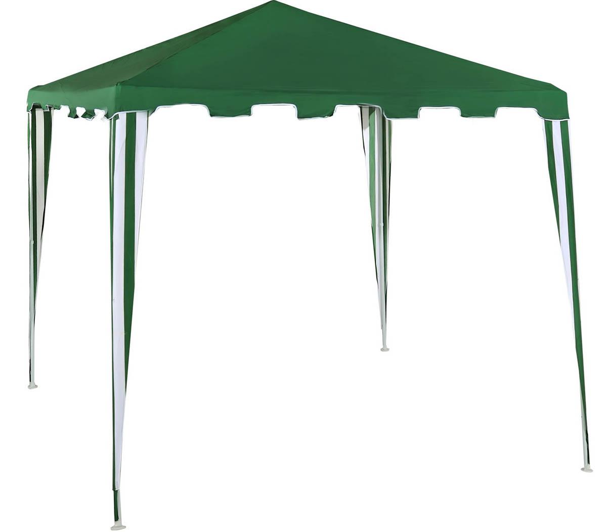 Садовый тент-шатер Green Glade 1018Садовые тенты и шатры<br>Дачный тент шатер 1018 защитит вас и от яркого летнего солнца. Тент шатер green glade 1018 изготавливаются из современных высококачественных материалов. Современный садовый тент шатер green glade быстро и легко устанавливаются, имеют великолепный внешний вид. Этот тент шатер можно брать с собой на отдых в лесу – в сложенном виде он не занимает много места и легко поместиться в любом автомобиле.<br><br>Кемпинговый тент шатер оптимален для проведения мероприятий на открытом воздухе. Если вы решили провести пикник на свежем воздухе, вы сможете без труда установить...<br><br>Тип: Садовый тент-шатер<br>Покрытие: полиэстер 140 г<br>Каркас: металлическая трубка (19х19х25 мм)<br>Размеры упаковки: 115х13х17 см