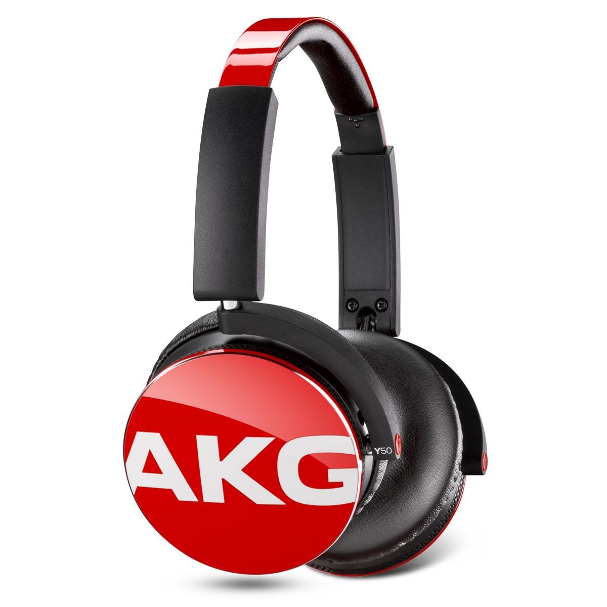 Наушники AKG Y50 RedНаушники и гарнитуры<br>Современная жизнь диктует новые условия — наушники должны быть портативными, складными, легкими — но в то же время совместимы с современными устройствами, при этом не теряя в качестве звука и должны быть высокого качества.<br><br>Представленная здесь модель Y50 от компании AKG — это накладные наушники с фирменным звучанием: эффектный стиль, надежная посадка и отсоединяемый кабель со встроенными пультом ДУ и микрофоном.<br><br>Дополнительные функции наушников превращают простое приспособление для прослушивания в мощное устройство для подключения ко всем...<br><br>Тип: гарнитура<br>Тип акустического оформления: Закрытые<br>Вид наушников: Накладные<br>Тип подключения: Проводные<br>Диапазон воспроизводимых частот, Гц: 16 - 24000<br>Сопротивление, Импеданс: 32 Ом<br>Чувствительность дБ: 115<br>Микрофон: есть