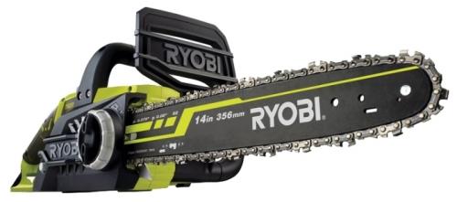 Электрическая цепная пила Ryobi RCS2340 (3002186)Пилы<br>Цепная пила Ryobi RCS2340 3002186 характеризуется высокой мощностью и надежностью. Питается от электрической сети. Комплектуется 40-сантиметровой шиной и цепью. Натяжение цепи производиться легко без использования инструмента. Пила предназначена для валки деревьев, строительства. Имеется индикатор уровня масла и индикатор включения. Обрезиненное покрытие рукояток способствует крепкому хвату. Система остановки цепи обеспечивает безопасность при пилении.<br><br>- Отсутствие выхлопов - возможность работы в закрытом помещении;<br>- Grip Zone™ - антискользящая накладка...<br><br>Тип: электрическая цепная<br>Конструкция: ручная<br>Мощность, Вт: 2300<br>Функции и возможности: тормоз цепи
