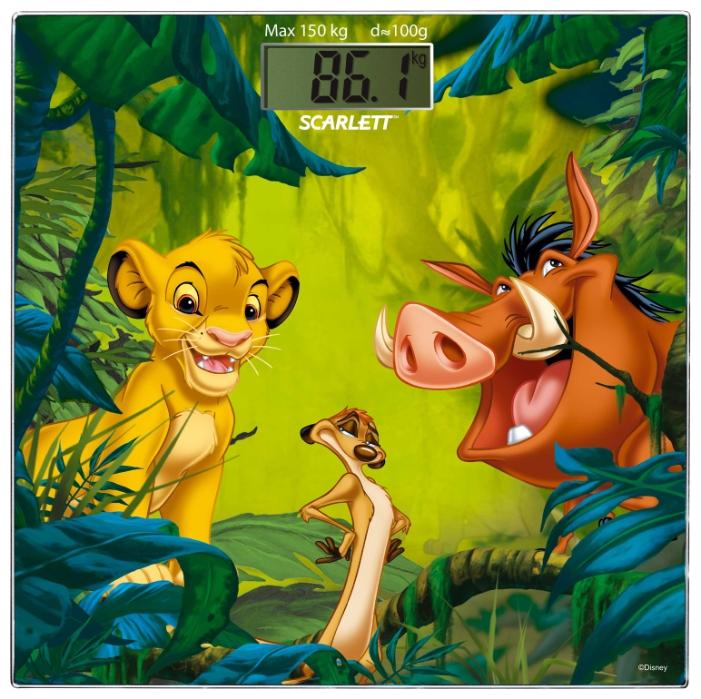 Весы Scarlett SC-BSD33E893Весы<br><br><br>Тип: напольные весы<br>Тип весов: электронные<br>Предел взвешивания, кг: 150<br>Точность измерения, г: 1