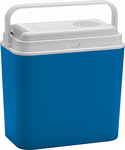 Автохолодильник Green Glade 4136 30 л тепло/холод 12/220ВАвтомобильные холодильники<br>Автомобильные термоэлектрические холодильники. По конструкции они похожи на изотермические контейнеры, но в крышке или на боковой стенке располагается охлаждающий элемент. Приборы работают от электросети машины 12 В. Главное отличие от бытового компрессорного холодильника - отсутствие хладагента. Холод вырабатывают специальные пластины, которые, в зависимости от полярности проходящего тока, способны выделять или поглощать теплоту &amp;#40;эффект Пельтье&amp;#41;. КПД такого охлаждения - всего 16-17%. Поэтому термоэлектрические холодильники охлажд...<br><br>Питание: 12/220 B<br>Объем: 30 л<br>Способ охлаждения  : термоэлектрический<br>Дополнительно: термоэлектрический корпус с наполнением из полиуретана.