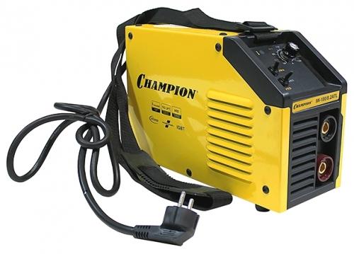 Сварочный аппарат Champion IW-180/8.2 ATLСварочные аппараты<br><br><br>Тип: сварочный инвертор<br>Сварочный ток (MMA): 10-180 А<br>Напряжение на входе: 160-260 В<br>Количество фаз питания: 1<br>Тип выходного тока: постоянный<br>Мощность, кВт: 8.20<br>Продолжительность включения при максимальном токе: 40 %<br>Диаметр электрода: 1.60-4 мм<br>Антиприлипание: есть<br>Горячий старт: есть