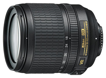 Объектив Nikon 18-105mm f/3.5-5.6G IF-ED AF-S DX VR Nikkor
