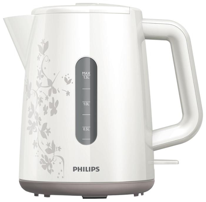 Чайник Philips HD 9304/13Чайники и термопоты<br><br><br>Тип   : Электрочайник<br>Объем, л  : 1.5<br>Мощность, Вт  : 2400<br>Тип нагревательного элемента: Плоский нагревательный элемент<br>Покрытие нагревательного элемента  : Нержавеющая сталь<br>Материал корпуса  : пластик<br>Вращение на 360 градусов  : Есть<br>Автоотключение при закипании  : Есть<br>Индикация включения  : Есть<br>Индикатор уровня воды  : Есть