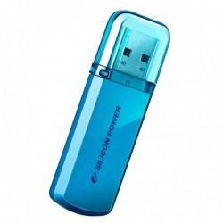 Flash накопитель Silicon Power Helios 101 4Gb голубой / SP004GBUF2101V1BFlash накопители<br>Продукт выделяется среди четырех других серий USB Silicon Power –Touch, LuxMini, Ultima и Unique. Цель выпуска этой серии – расширить продуктовую линейку и предложить пользователям широкий ассортимент USB-устройств. Если вы желаете приобрести скоростное, практичное и красивое USB-устройство – продукция Silicon Power создана для вас!<br><br>Объем памяти: 4 Гб<br>Интерфейс: USB 2.0<br>Материал корпуса: металл
