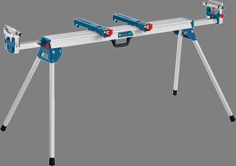Рабочий стол Bosch GTA 3800 [0601B24000]Аксессуары для пил<br>- Широкие роликовые опоры — для точной обработки широких заготовок<br>- Поставляется в виде принадлежности: на роликах для удобства транспортировки<br>