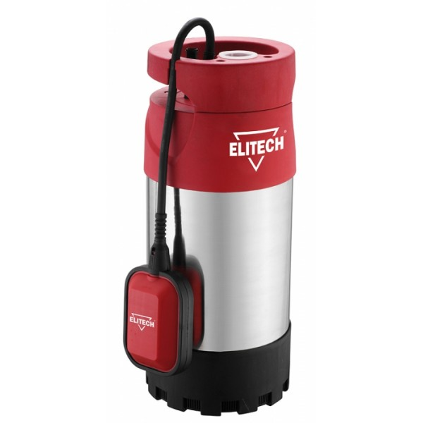 """Насос Elitech НПК 800-30Насосы<br>ELITECH НПК 800-30 - погружной насос для чистой воды, обладает мощностью 800 Вт. Обеспечивает подачу чистой воды из источников с максимальным напором до 30 метров. Идеально подходит для выкачивания воды из колодцев. Предполагает полочную установку<br><br>- Надежный асинхронный двигатель с использованием прецизионных подшипников и датчика защиты от перегрева;<br>- Корпус насоса из высококачественной нержавеющей стали;<br>- Стандартный размер выходного патрубка под резьбу G1"""";<br>- Регулируемый механический поплавковый выключатель;<br>- Многоступенчатая система из 4 рабочих...<br><br>Максимальный напор: 30 м<br>Пропускная способность: 5.7 куб. м/час<br>Напряжение сети: 220/230 В<br>Потребляемая мощность: 800 Вт<br>Качество воды: чистая<br>Размер фильтруемых частиц: 0.5 мм<br>Установка насоса: вертикальная"""