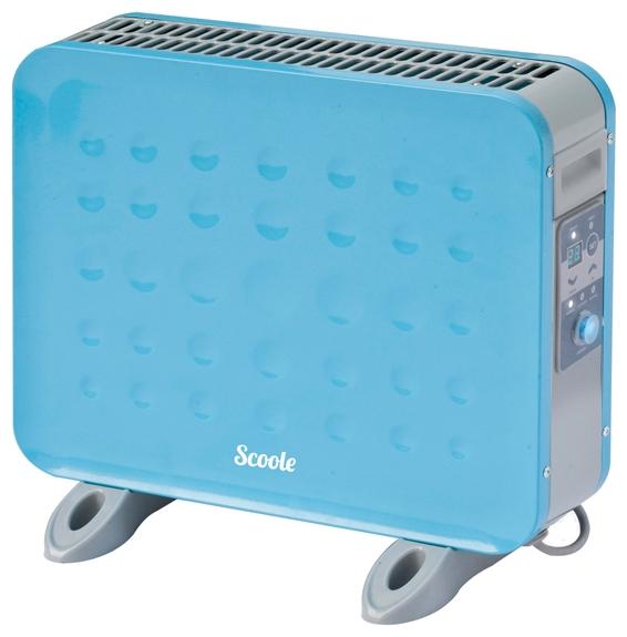 Конвектор Scoole SC HT HL1 1000 BEОбогреватели<br><br><br>Тип: конвектор<br>Тип нагревательного элемента: микатермический ленточный STIX<br>Площадь обогрева, кв.м: 16<br>Отключение при перегреве: есть<br>Влагозащитный корпус: есть<br>Управление: электронное<br>Регулировка температуры: есть<br>Термостат: есть<br>Таймер: есть<br>Максимальное время установки таймера. ч: 24