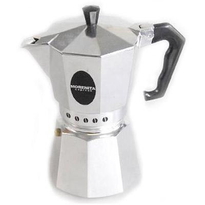 Кофеварка Bialetti Morenita 3 п. 62 NEWКофеварки и кофемашины<br><br><br>Тип : гейзерная кофеварка<br>Тип используемого кофе: Молотый<br>Объем, л: 0,12<br>Материал корпуса  : Металл