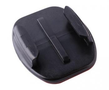 Крепление GoPro FlatAdhesive Mounts AAFLTЭкстрим видеокамеры<br>Это такие же крепления, которые уже поставляются с большинством комплектов камер Go Pro Hero и HD Hero. Этот комплект включает в себя 5 плоских платформ с клеющей поверхностью 3M. Инновационное покрытие 3M VHB 4991 обеспечивает надежное соединение с поверхностью, но может быть с легкостью удалено путем нагревания &amp;#40;например, феном&amp;#41;.<br>
