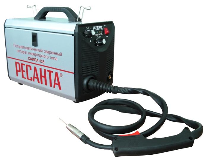 Сварочный аппарат Ресанта САИПА-135Сварочные аппараты<br><br><br>Тип: сварочный инвертор<br>Продолжительность включения при максимальном токе: 70 %<br>Степень защиты: IP21