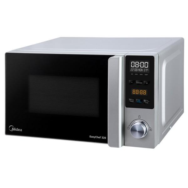 Микроволновая печь Midea AM720C3P-CМикроволновые печи<br><br><br>Объём, литров: 20<br>Тип: Микроволновая печь<br>Тип управления: Электронное<br>Дисплей: Есть