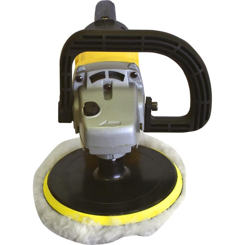 Полировальная шлифмашина Калибр Мастер УПМ-1200/180ЕмШлифовальные и заточные машины<br>Ручная электрическая полировальная угловая машина <br>Калибр УПМ-1200/180Ем&amp;nbsp;&amp;nbsp;предназначена для полирования, чистовой обработки перед покраской, заключительных стадий обработки поверхностей, а также для удаления ржавчины и краски.<br>- регулировка скорости<br>
