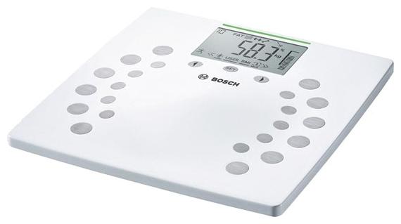 Весы Bosch PPW2360Весы<br><br><br>Тип: напольные весы<br>Тип весов: электронные<br>Предел взвешивания, кг: 180<br>Точность измерения, г: 0.1