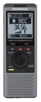 Диктофон Olympus VN-731PC GreyДиктофоны<br><br><br>Тип: Цифровой диктофон<br>Обьём встроенной памяти Mb: 2000<br>Мощность звука (на канал) мВт: 320<br>Блокировка кнопок: Есть<br>Встроенный динамик: есть