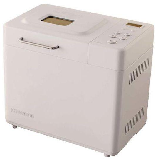 Хлебопечь Kenwood BM250Хлебопечки<br>Простое кнопочное управление<br><br>Жидкокристаллический дисплей, отображающий статус программы<br><br>Таймер отсрочки времени выпекания на 15 часов<br><br><br>  <br><br><br>Основные характеристики:<br><br>Специальная функция Rapid Bake button, позволяющая приготовить хлеб за 58 минут<br><br>3 размера хлеба 500г, 750г или 1 кг<br><br>Функция приготовления теста для пиццы<br><br>Функция подогрева в течение часа<br><br><br>  <br><br><br>Комплектация:<br><br>Специальный мерный стакан<br><br>Ложка<br><br>Тип: Хлебопечь<br>Максимальный вес выпечки, г: 1000<br>Мощность, Вт: 480<br>Регулировка веса выпечки: Есть<br>Выбор цвета корочки: Есть<br>Таймер: Есть<br>Поддержание температуры: Есть<br>Диспенсер: Нет<br>Запас памяти при сбое электропитания, мин: 8
