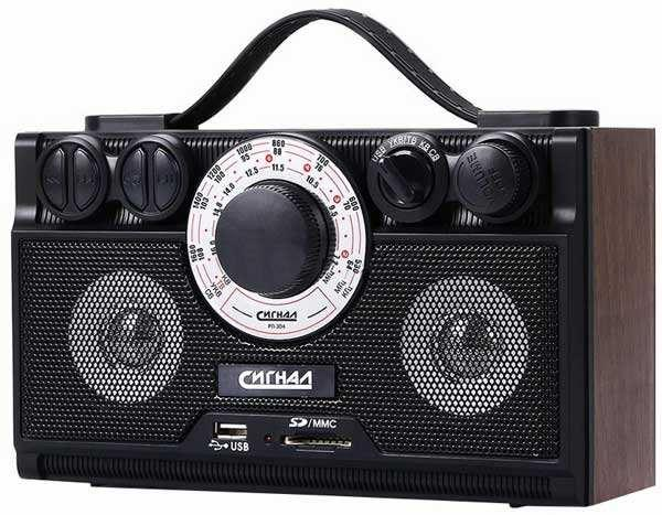Радиоприемник Сигнал electronics РП-304Радиобудильники, приёмники и часы<br><br><br>Тип: Радиоприемник<br>Тип тюнера: Аналоговый<br>Часы: Нет<br>Встроенный будильник  : Нет