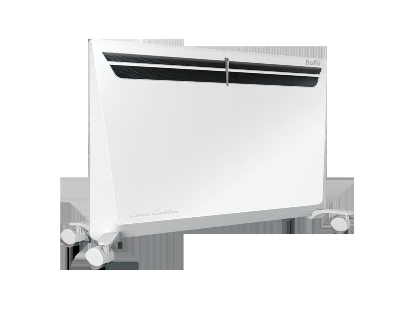 Конвектор BALLU BEC/EVM-2000Обогреватели<br>Спешите купить практичный и удобный в использовании конвектор Ballu BEC/EVM-2000 в магазине «Техномарт.ру». Прибор предназначен для создания и поддержания оптимальных температурных условий в малогабаритных помещениях. <br><br>К работе над серией были привлечены ведущие проектировщики итальянского дизайнерского бюро. В результате был создан конвектор Ballu BEC/EVM-2000, в котором все продумано до мелочей — от конструктива до дизайна.<br>Особенности:<br><br>мощность — 2 000 Вт;<br>автоматический выключатель, активизирующийся при достижении верхнего предела температуры;...<br><br>Тип: конвектор<br>Серия: Evolution<br>Максимальная мощность обогрева: 2000<br>Площадь обогрева, кв.м: 25<br>Влагозащитный корпус: есть<br>Управление: механическое<br>Регулировка температуры: есть<br>Защита от мороза : есть<br>Выключатель со световым индикатором: есть<br>Настенный монтаж: есть
