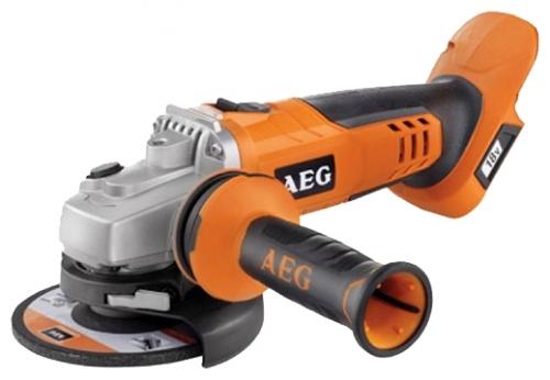 Угловая шлифмашина AEG 443460 BEWS18-125Х LI-402CШлифовальные и заточные машины<br>Угловая шлифмашина AEG BEWS 18-125Х LI-402C 443460 - компактный и мощный аккумуляторный инструмент. Прекрасно шлифует, зачищает или режет твердые металлы и камень. Боковая антивибрационная рукоятка обеспечивает комфорт и безопасность пользователя. Защитный кожух регулируется без помощи дополнительного инструмента. Модель поставляется с 2 аккумуляторами в чемодане.<br>