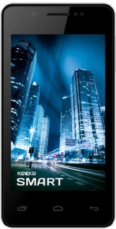 Мобильный телефон Keneksi Smart WhiteМобильные телефоны<br><br><br>Тип: Смартфон<br>Стандарт: GSM 900/1800/1900, 3G<br>Тип трубки: классический<br>Поддержка двух SIM-карт: есть<br>Операционная система: Android 4.2<br>Встроенная память: 2 Гб<br>Фотокамера: 3.20 млн пикс., 2048x1536, встроенная вспышка<br>Форматы проигрывателя: MP3<br>Разъем для наушников: 3.5 мм<br>Спутниковая навигация: GPS