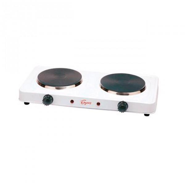 Кухонная плита Аксион ЕР 22Кухонные плиты<br><br><br>Тип варочной панели: электрическая<br>Тип духовки: нет<br>Ширина, см: 60<br>Рабочая поверхность : эмаль<br>Число электрических конфорок: 2<br>Гриль: нет<br>Высота, см: 10<br>Глубина, см: 20