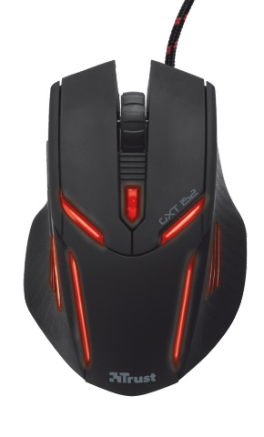 Компьютерная мышь Trust GXT 152 Illuminated Gaming Mouse Black USB (19509)