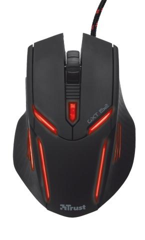Компьютерная мышь Trust GXT 152 Illuminated Gaming Mouse Black USB (19509)Компьютерные мыши<br>Игровая мышь Trust GXT 152 создана специально для длительного игрового процесса. Игровая мышь Trust GXT 152 справится с любой ситуацией и подойдет как для меткой стрельбы в шутерах, так и для быстрого управления армиями в стратегиях.<br><br>Игровая мышь с разноцветной подсветкой подойдет для любой цели!<br><br>Удобство игры на протяжении длительного времени<br>Эргономичная конструкция игровой мыши Trust GXT 152 делает ее идеальным выбором для комфортной игры, сохраняя удобство даже во время длительных игровых сеансов. Прорезиненное покрытие на боковых сторонах мыши обеспечивает...<br>
