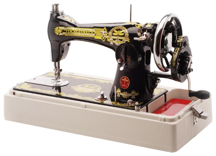 Швейная машина Dragonfly JA 2-2Швейные машины<br><br><br>Тип: механическое<br>Тип челнока: качающийся<br>Вышивальный блок: нет<br>Количество швейных операций: 1<br>Выполнение петли: ручное<br>Максимальная длина стежка: 4.0 мм<br>Максимальная ширина стежка: 5.0 мм<br>Кнопка реверса: есть<br>Регулировка скорости шитья: плавная<br>Рукавная платформа: нет