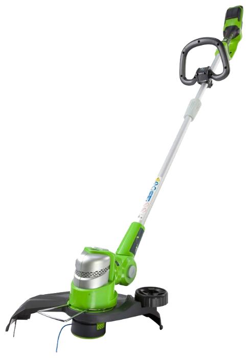 Триммер Greenworks G24LT30M 2100007 24V Deluxe