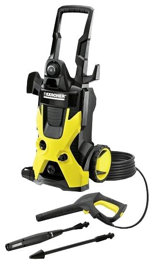 Мойка высокого давления Karcher K 5 BasicМойки высокого давления<br><br><br>Давление, Бар: 145<br>Производительность, л/час: 500<br>Потребляемая мощность: 2.1 кВт·ч<br>Напряжение сети: 220/230 В<br>Насадки: стандартная, грязевая фреза<br>Шланг ВД: способ хранения: держатель, длина 8 м