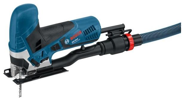 Лобзик Bosch GST 90 E чемодан [060158G000]Лобзики электрические<br>Первоклассный комфорт в пилотной серии<br><br>Потребительские преимущества<br>- Надежный инструмент для ежедневного использования<br>- Высокий уровень комфорта благодаря SDS от Bosch — системе простой замены пильного полотна без использования дополнительного инструмента<br>- Двигатель мощностью 650 Вт для высокой производительности<br><br>Дополнительные преимущества<br>- Оптимизированная зажимная система пильного полотна для высокой точности пропилов<br>- Стойкая к деформациям стальная опорная плита<br>- Образцовая плавность хода при пилении для достижения максимальных...<br><br>Потребляемая мощность: 650 Вт<br>Частота движения пилки: 500 - 3100 ходов/мин<br>Длина хода: 26 мм<br>Глубина пропила дерева: 90 мм<br>Глубина пропила алюминия: 20 мм<br>Глубина пропила стали: 10 мм<br>Рукоятка: грибовидная, обрезиненная<br>Работа от аккумулятора: нет