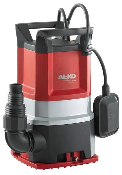 Насос AL-KO Twin 11000 PremiumНасосы<br>Простой поворот основания насоса для переключения с режима откачивания грязной воды на режим откачивания чистой воды до минимального уровня.<br><br>Глубина погружения: 7 м<br>Максимальный напор: 10 м<br>Пропускная способность: 13 куб. м/час<br>Напряжение сети: 220/230 В<br>Потребляемая мощность: 750 Вт<br>Качество воды: грязная<br>Размер фильтруемых частиц: 20 мм<br>Установка насоса: вертикальная