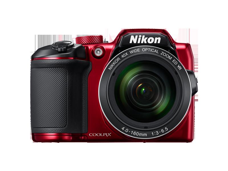 Цифровой фотоаппарат Nikon Coolpix B500 RedЦифровые фотоаппараты<br><br><br>Тип: Цифровой Фотоаппарат<br>Оптическое увеличение: 12<br>Стабилизатор изображения: Оптический<br>Носители информации: micro SD, micro SDHC, micro SDXC<br>Видеорежим: Есть<br>Звук в видеоклипе: Есть<br>Вспышка: Есть<br>Цвет: Красный<br>Кроп фактор: 5.62<br>Тип матрицы: CCD