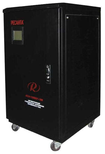 Стабилизатор напряжения Ресанта ACH-15000/1-ЭМСтабилизаторы напряжения<br><br><br>Тип: стабилизатор напряжения