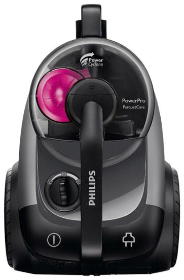 Пылесос Philips FC 8766/01Пылесосы<br><br><br>Тип: Пылесос без мешка для сбора пыли<br>Потребляемая мощность, Вт: 2100<br>Мощность всасывания, Вт: 370<br>Тип уборки: Сухая<br>Регулятор мощности на корпусе: Есть<br>Длина сетевого шнура, м: 7<br>Фильтр тонкой очистки: Есть<br>Пылесборник: Контейнер
