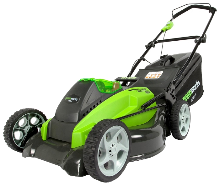 Газонокосилка GreenWorks 2500107 G-MAX 40V 45 cm 4-in-1 (G40LM45)
