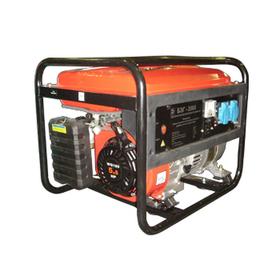 Электрогенератор Калибр БЭГ-2300Электрогенераторы<br><br><br>Тип электростанции: бензиновая<br>Тип запуска: ручной<br>Число фаз: 1 (220 вольт)<br>Мощность двигателя: 5.5 л.с.<br>Тип охлаждения: воздушное<br>Расход топлива: 1.2 л/ч<br>Объем бака: 12 л<br>Активная мощность, Вт: 2000