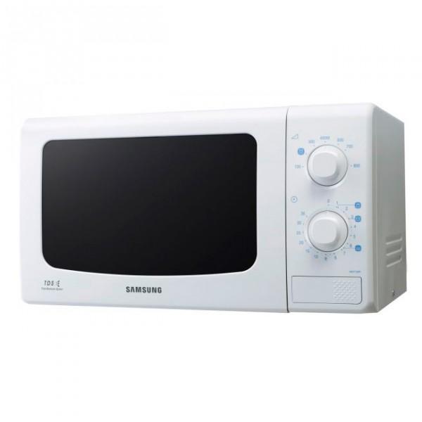 Микроволновая печь Samsung ME 713 KRМикроволновые печи<br><br><br>Объём, литров: 20<br>Тип: Микроволновая печь<br>Тип управления: Механическое<br>Переключатели: Поворотные