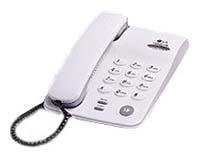Проводной телефон LG GS460F RUSCRПроводные телефоны<br><br><br>Тип: проводной телефон<br>Повторный набор номера: есть<br>Тональный набор: есть<br>Набор номера без снятия трубки: есть<br>Регулятор уровня громкости: есть<br>Возможность настенной установки: есть<br>Удержание линии: есть<br>Электронное разъединение: есть