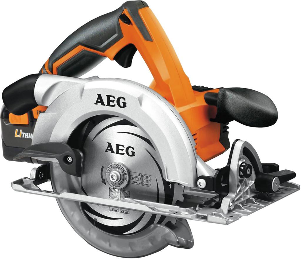 Дисковая пила AEG 431375 BKS 18-0Пилы<br>- Компактная, легкая и хорошо сбалансированная<br>- Экстремально быстрая скорость резания 5000 об / мин<br>- Подошва и верхний защитный кожух изготовлены из магниевого сплава для увеличения надежности<br>- Большой 50° угол наклона диска<br>- Электронный тормоз двигателя обеспечивает остановку диска в доли секунды<br>- Блокировка выключателя для безопасности<br>- Блокировка шпинделя для быстрой замены диска<br>- Технология AEG Pro Lithium Ion с защитой от перегрузки для максимальной надежности аккумулятора и инструмента<br>- Поставляется с ТСТ диском 165 мм и параллельной направляющей...<br><br>Тип: дисковая<br>Конструкция: ручная<br>Функции и возможности: торможение двигателя, блокировка шпинделя, подключение пылесоса