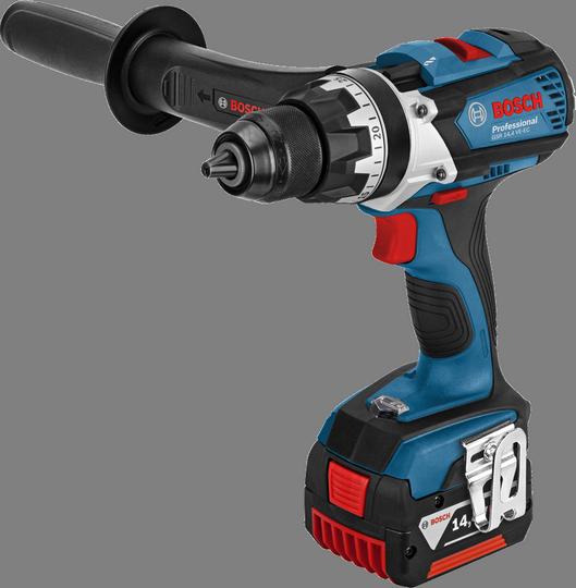 Дрель-шуруповерт Bosch GSR 14,4 VE-EC 4.0Ah x2 L-Box [06019F1001]Дрели, шуруповерты, гайковерты<br><br><br>Тип: дрель-шуруповерт<br>Тип инструмента: безударный<br>Тип патрона: быстрозажимной<br>Количество скоростей работы: 2<br>Питание: от аккумулятора<br>Возможности: реверс, фиксация шпинделя, электронная защита от перегрузок, электронная регулировка частоты вращения, бесколлекторный (бесщеточный) двигатель<br>Тип аккумулятора: Li-Ion<br>Время зарядки аккумулятора: 0.75 ч<br>Съемный аккумулятор: есть<br>Дополнительный аккумулятор: есть