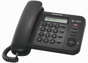 Проводной телефон Panasonic KX-TS2356RUBПроводные телефоны<br>Panasonic kx ts2356rub — это правильный выбор!<br>Стоит ли читать отзывы перед покупкой телефона? Мы считаем, что однозначно стоит! Хотя бы для того, чтобы окончательно убедиться в том, что вы делаете правильный выбор. Правда, если вы решили приобрести проводной телефон Panasonic kx ts2356rub, это уже будет правильным выбором. Ведь что может быть лучше качественного и надежного аппарата с множеством полезных функций, которые делают любое общение продуктивным и комфортным?<br>Автоматический определитель номера и Caller ID, встроенная телефонная книга, переадресация, регулятор...<br><br>Тип: проводной телефон<br>Дисплей: есть<br>Органайзер: есть<br>АОН/Caller ID: есть/есть<br>Количество линий : 1<br>Память (количество номеров): 50<br>Однокнопочный набор (количество кнопок): 20<br>Встроенная телефонная книга: есть<br>Переадресация (Flash): есть<br>Повторный набор номера: есть