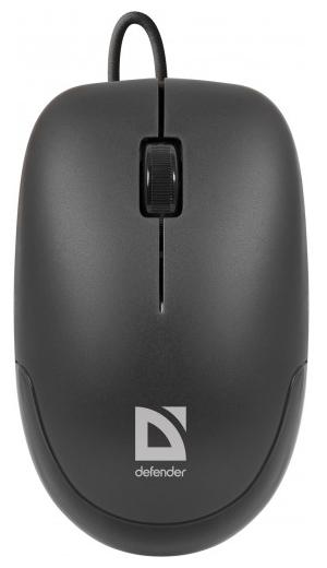 Компьютерная мышь Defender Datum MM-010 Black USB