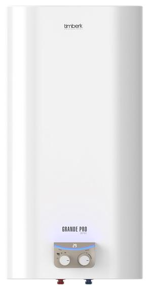 Водонагреватель Timberk SWH FSQ1 80 VВодонагреватели<br>Накопительный водонагреватель Timberk SWH FSQ1 80 V оборудован удобной панелью управления с LED-дисплеем. Дисплей имеет двухуровневую светодиодную индикацию для легкости визуального определения режима работы аппарата. Нагреватель надежен в эксплуатации, все системы обладают повышенным уровнем безопасности. Power Proof® - система экономии электроэнергии, DROP Defense - защита от протечки и избыточного давления внутри бака, SHOCK Defense - защита от утечки электрического тока &amp;#40;УЗО&amp;#41;, HOT Defense - двухуровневая защита от перегрева.<br> <br>- Классический дизайн;<br>- Прочный стальной...<br><br>Тип водонагревателя: накопительный<br>Способ нагрева: электрический<br>Объем емкости для воды, л.: 80<br>Максимальная температура нагрева воды (°С): +75 °С<br>Номинальная мощность(кВт): 2<br>Управление: механическое